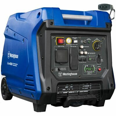 Westinghouse Igen4500 - 3700 Watt Electric Start Portable Inverter Generator...
