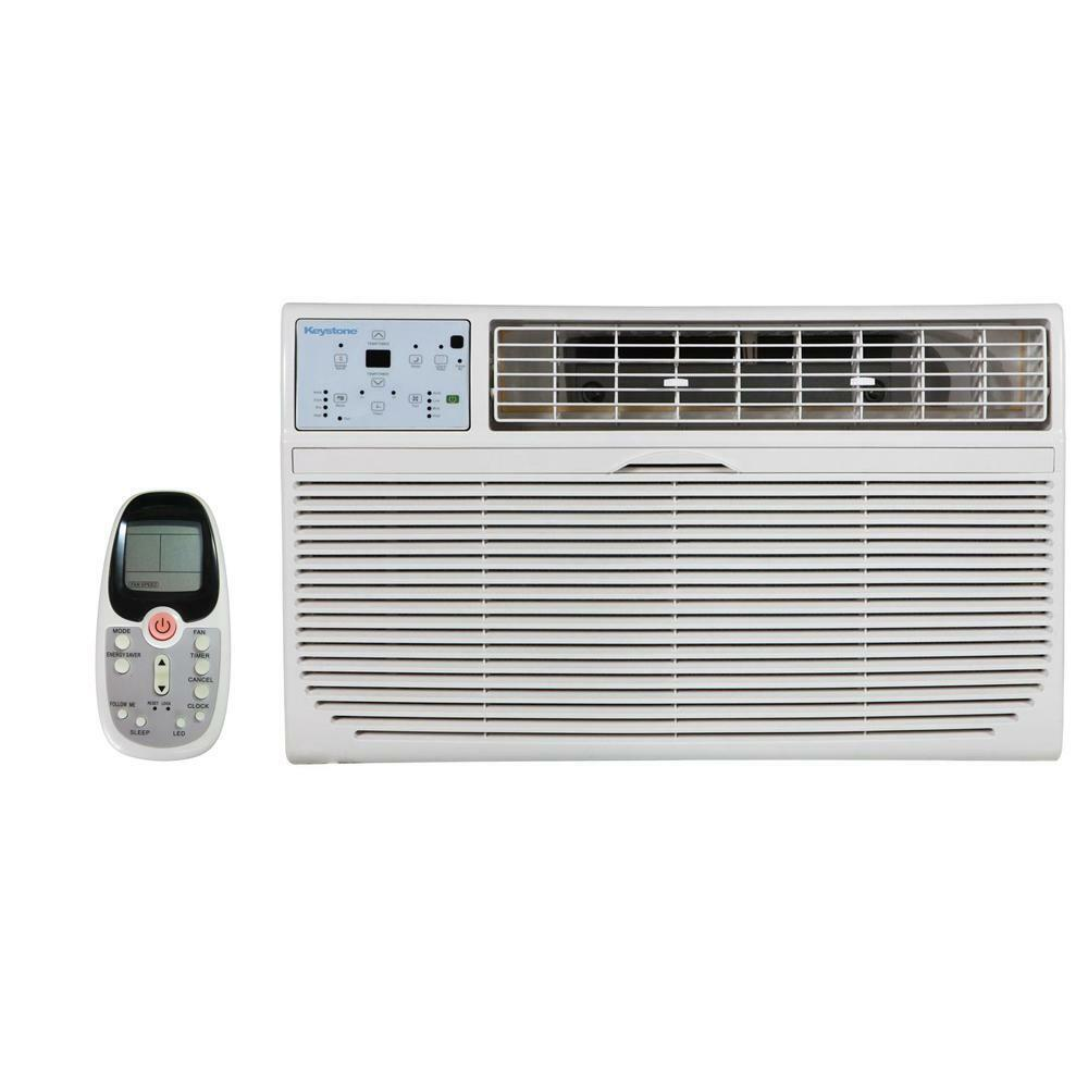 Keystone 10,000 Btu 230V Through-the-Wall Air Conditioner wi