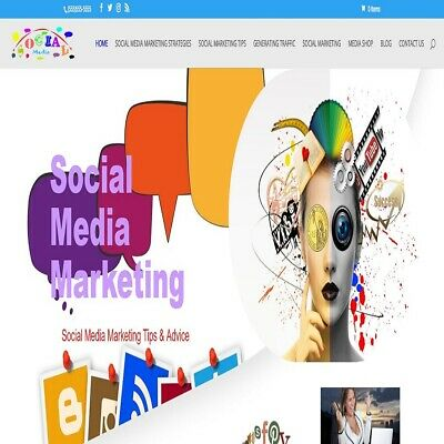 Social Media Marketing Wordpress Website Woocommerceebayamazonaliexpress
