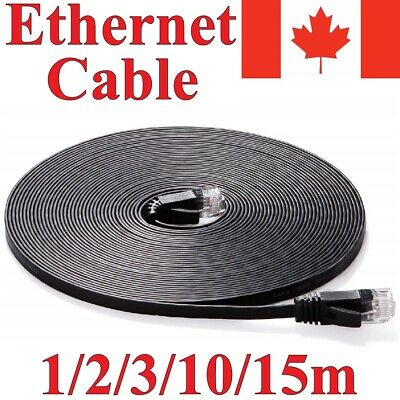 CAT 6 Ethernet Cable LAN Internet Network for Computer Router PC Mac Laptop PS4