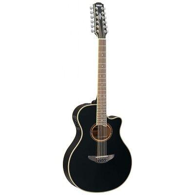 Yamaha APX700II 12 String Acoustic Electric Guitar - Black segunda mano  Embacar hacia Argentina