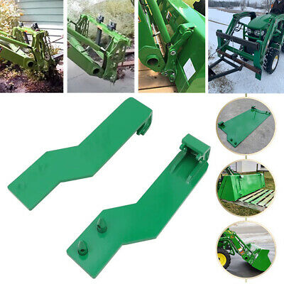 2pcs Loader Quick Tach Weld On Mounting Brackets For John Deere - Free Shipping