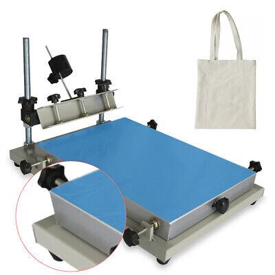 Solder Paste Printer Stencil Printer 300x240mm Manual Printing Machine Us Stock