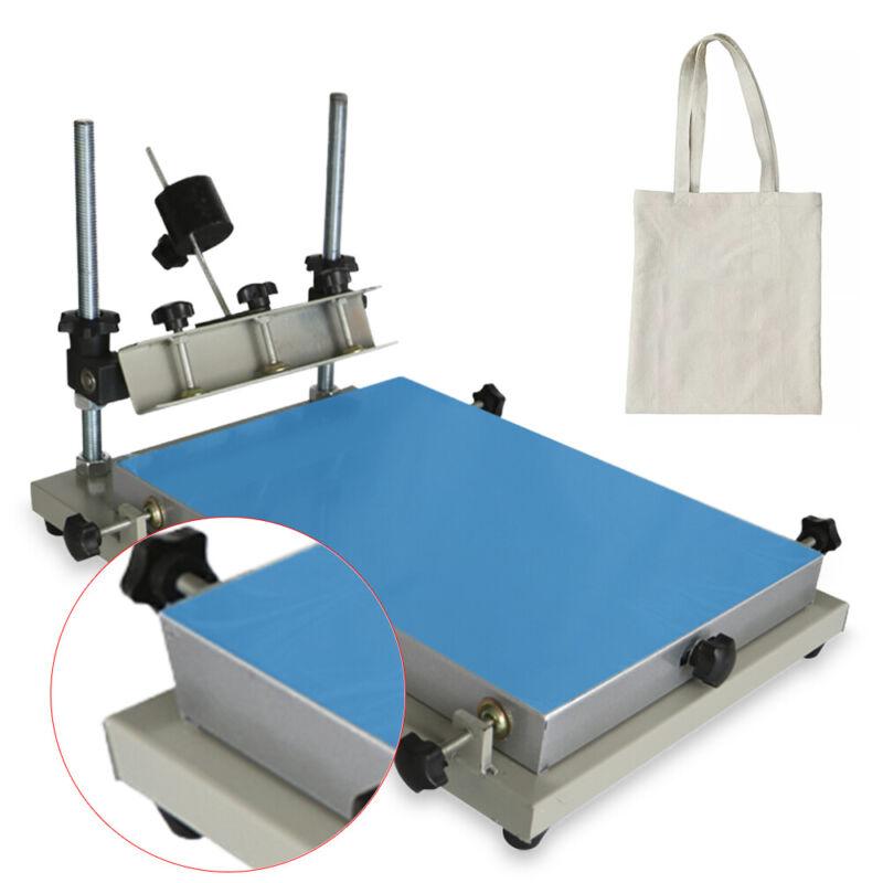 NEW Manual Solder Paste Printer PCB SMT Stencil Printer S Size 300x240mm USA