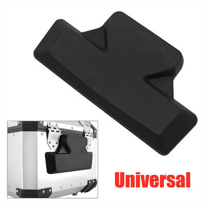 Motorcycle Rear Trunk Back Seat Backrest Cushion Support Tail Box Passenger Pad