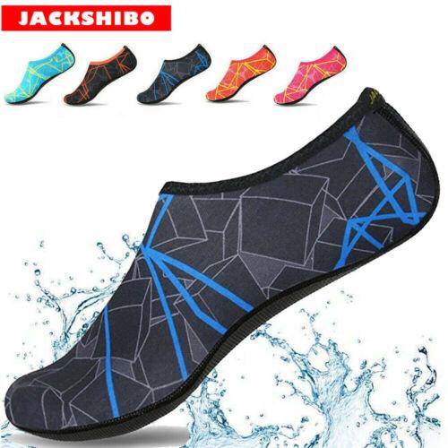 Neu Badeschuhe Herren Damen Wasser Sport Aqua Schuhe Barfuß Schwimmen Surf Shoes