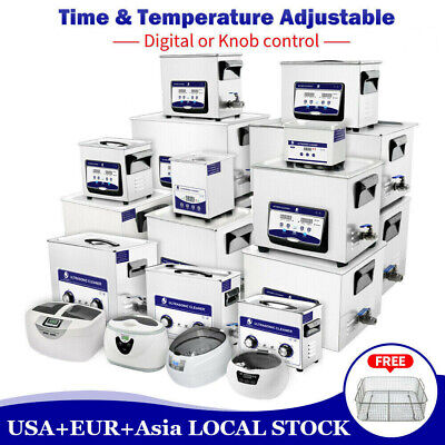 Stainless Steel Ultrasonic Cleaner 0.6-30l Solution Parts Tools Jewelry Wtimer