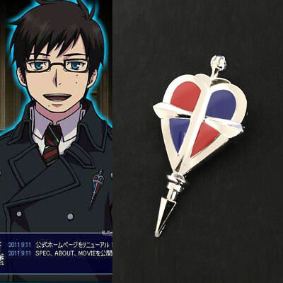 Ao No Blue Exorcist Alloy Badge Abzeichen Brooch Pin Anime Cosplay Kostüm Neu