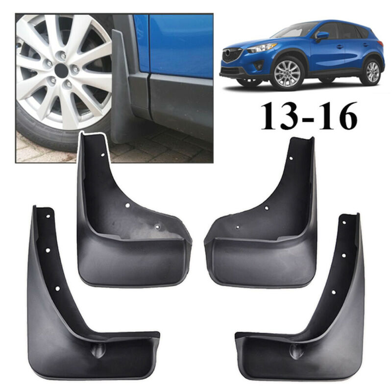 OE Styled Mud Flaps Splash Guard Fender Protector For 2012-2016 Mazda CX5 CX-5