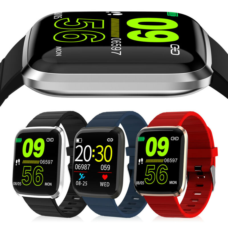 Smart Watch Fitness Tracker Blood Pressure Heart Rate Monito