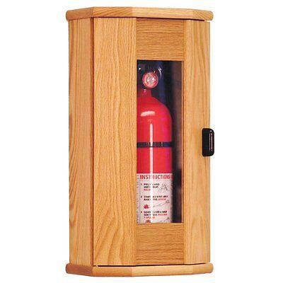 Wooden Mallet Fire Extinguisher Cabinet - 10 Lb. Capacity Light Oak Fec21lo New