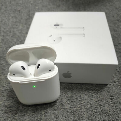 Apple AirPods (2nd Gen) with Wireless Charging Case Headsets- US Stock NEW