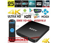 FULLY LOADED ANDROID TV BOX A95X QUAD CORE S905
