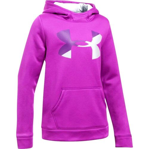 Under Armour Storm Big Logo hoodie sweatshirt NWT UPICK L XL girls