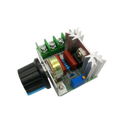 Ac220v 2000w Speed Controller Scr Voltage Regulator Dimming Dimmers Thermostat