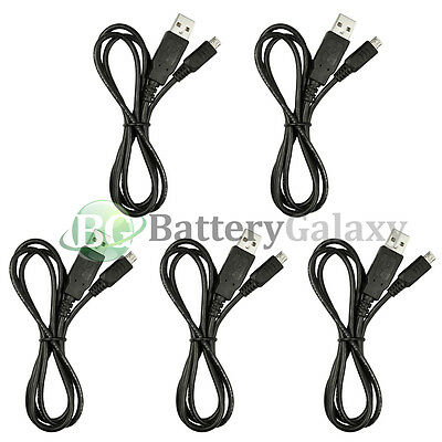 50 Micro USB Rapid Travel Battery Charger Data Sync Cable For Android Cell Phone