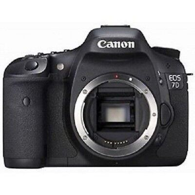 USED Canon EOS 7D 18 MP CMOS Digital SLR Body Excellent FREE SHIPPING