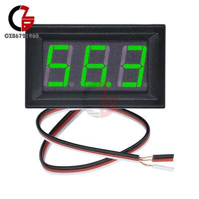 Green Led Display Panel Meter Mini Digital Voltmeter Dc 0v To 99.9v Three Wires