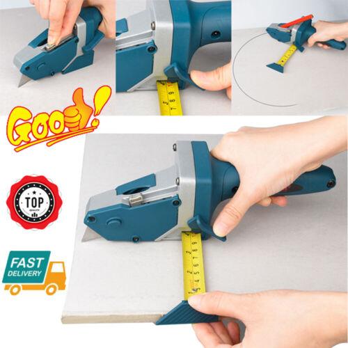 Manual Gypsum Board Cutter Hand Push Drywall Artifact Tool w/ Blade &Pencil 2021