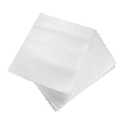100 Pcs Foam Packing Sheets Foam Pouches For Dishes Moving Shipping 25x30cm