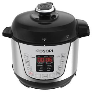 NEW COSORI Electric Pressure Cooker 2 Quart Mini Rice Cookware, Digital Non-Stick 7-in-1