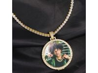 Iced Out Photo Necklace