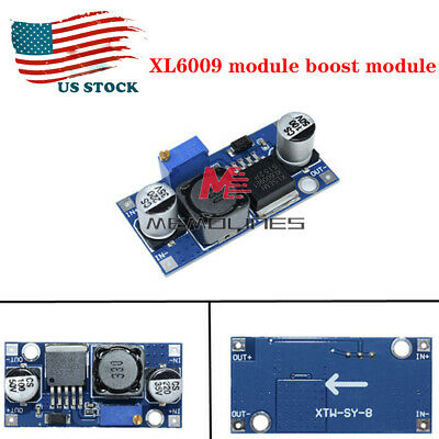 Dc-dc Boost Adjustable Step-up Down Converter Xl6009 Module Voltage