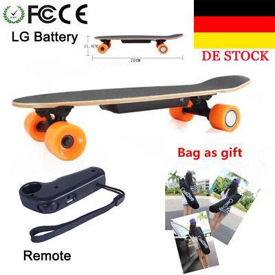 Elektro Skateboard Scooter LG Battery Long-board Skate Board Wireless+Remote New