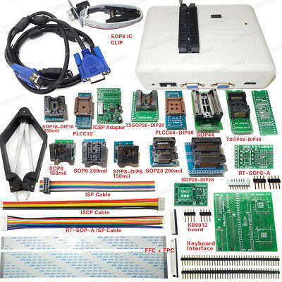 Original Rt809h Emmc-nand Flash Programmer With Adapters Cable Set Emmc-nand