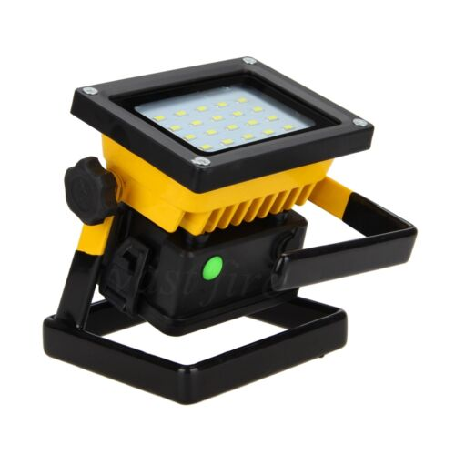 Craftsman 30 Led Rechargeable Stick Light Work Lights: 30W 20 LED Portable Rechargeable LED Flood Light Spot Work