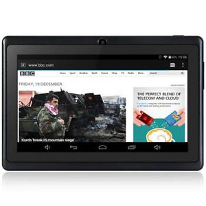 """100% BRAND NEW IN THE BOX Android 4.4 Tablet 7"""" PC 1.2GHz 512MB RAM 8GB ROM Dual Cameras WiFi USB MINI TAB TOUCHSCREEN"""