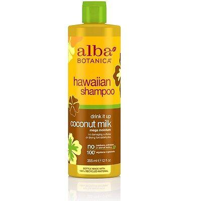 Alba Botanica Natural Hawaiian Shampoo Drink It Up Coconut M