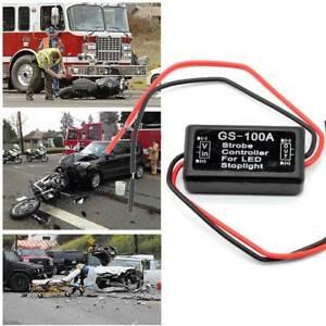 UK 12V-24V Flash Strobe Controller Flasher Module for LED Brake Stop Light Lamp