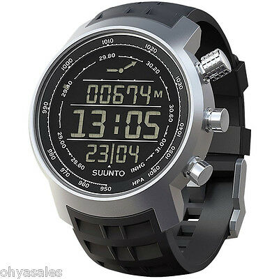 Suunto Elementum Terra Digital Display Black Quartz Watch - SS014522000