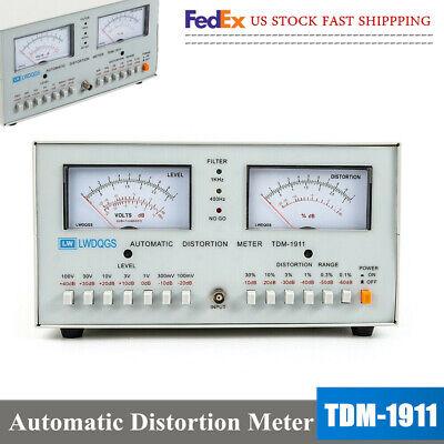 Tdm-1911 Automatic Audiosignal Distortion Meter0.01 - 30 400 Hz 1 Khz Sale