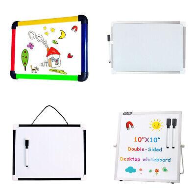 Viz-pro Dry Erase Board Kids Drawing Board Magnetic Home School Writing Board