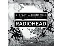****RADIOHEAD****MANCHESTER***4th JULY