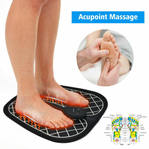 Electric EMS Foot Massager Physiotherapy Vibrator Feet Muscle Stimulator NEW Health & Beauty