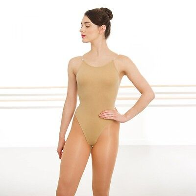 Child Low Back Camisole Undergarment (Silky Nude Seamless Low Back Camisole Dance Undergarment Leotard )