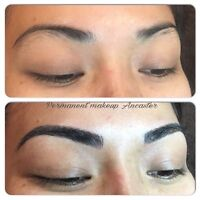 3d permanent eyebrow (%10 off special of May)