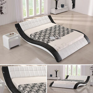 doppelbett bettgestell ehebett polsterbett raul 180x200 designer bett r00wb ebay. Black Bedroom Furniture Sets. Home Design Ideas