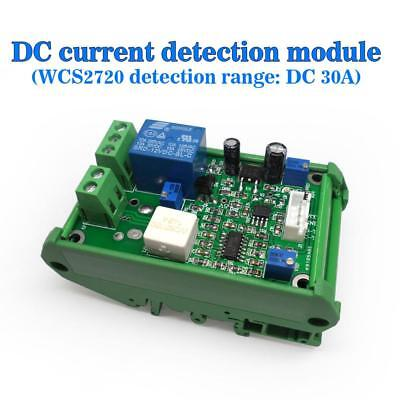 24v Wcs2720 Current Sensor Module Dc 0-30a Overcurrent Protection With Stand