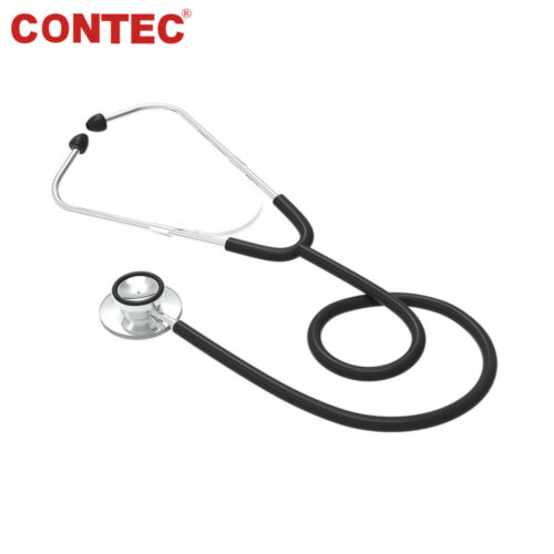 Contec Double Dual Head Stethoscope Cardiology Heart Lung Sound Medical Doctor