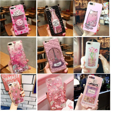 Quicksand Bling Flamingo Unicorn Glitter Heart Star Case For