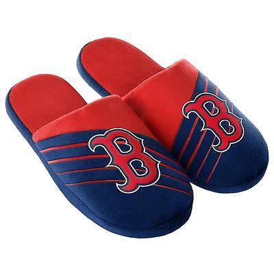 Boston Red Sox MLB Men's Team Logo Slide Slippers/Sandals:Sizes 9-13 Boston Red Sox Mlb Slippers