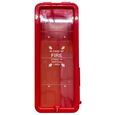 Firetech 5 Lb. Fire Extinguisher Cabinet Indoor Outdoor - Red - Surface Mount