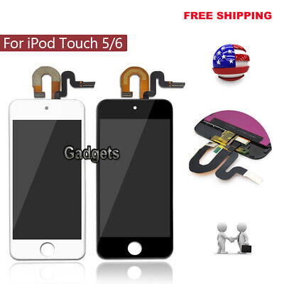 For iPod Touch 5 6th Gen LCD Screen Touch Digitizer Assembly Replacement US