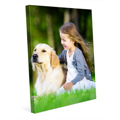 Art On Wrapped Canvas - 8x10 Your Picture Photo Art Printed on Custom Gallery Wrapped Canvas STD Frame