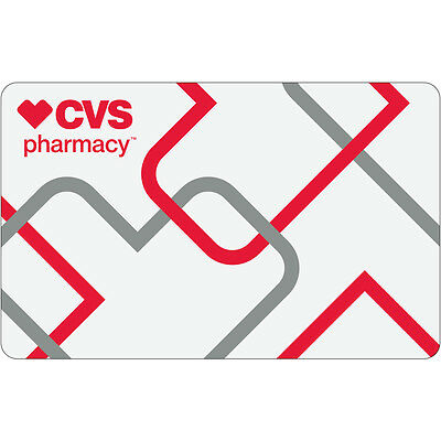 25 Cvs Physical Gift Card   Standard 1St Class Mail Delivery