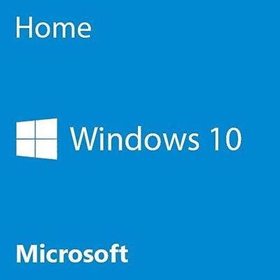 Microsoft Windows 10 Home 32 Bit System Builder OEM KW9-00186